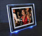 "10.4"" eMotion Ambient Blue Digital Photo Frame"